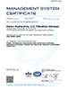 Eaton Corporation ISO 9001-2008 Certificate